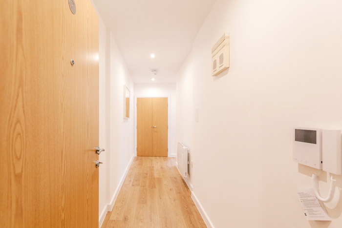 One Bedroom Apartment - Corridor