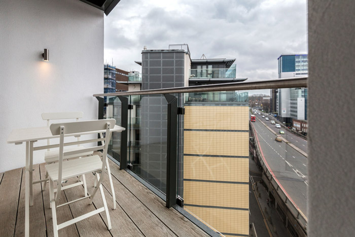 One Bedroom Apartment - Balcony
