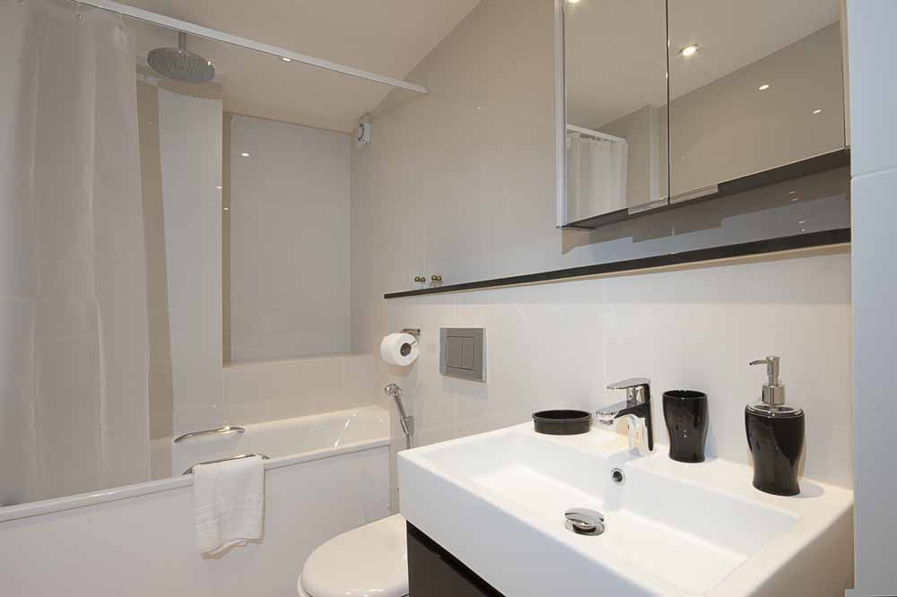 Standard Two Bedroom Apartment - Bathroom