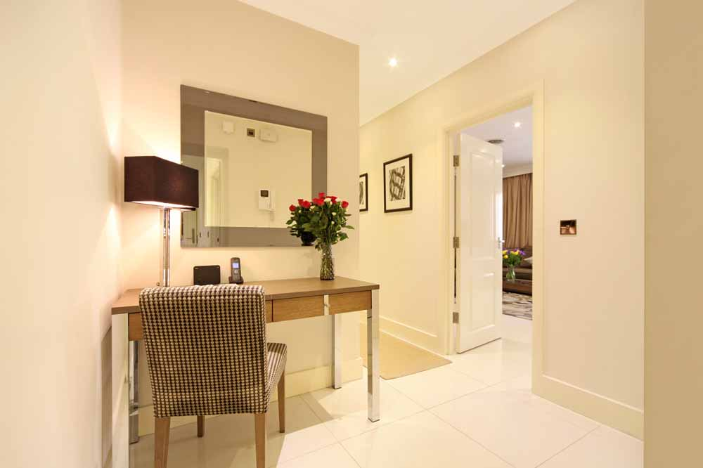 Two Bedroom Apartment - Entrance Hall