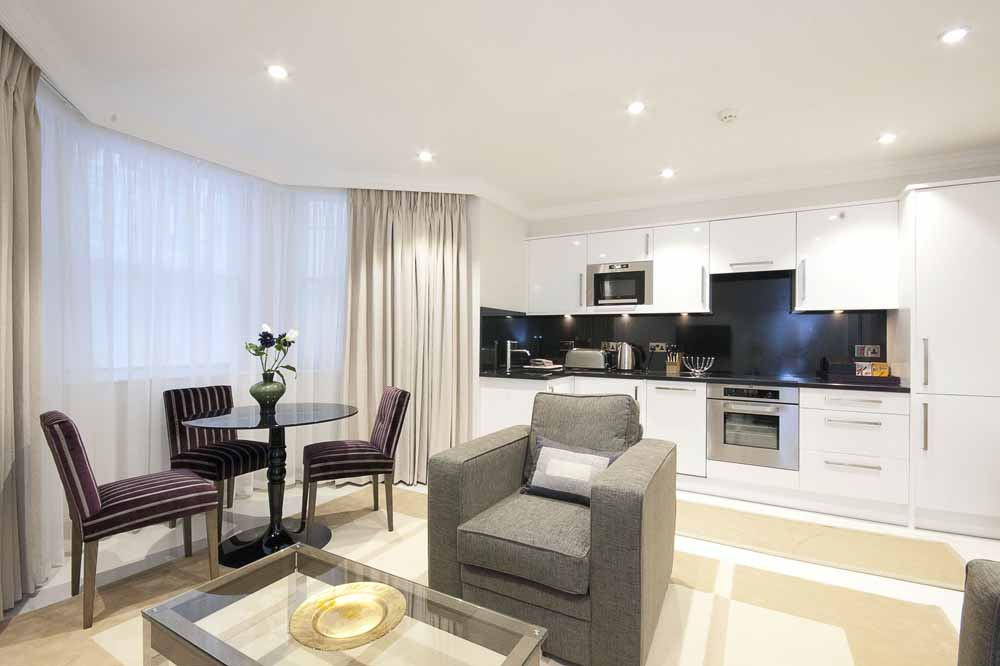 Standard One Bedroom Apartment - Living Area