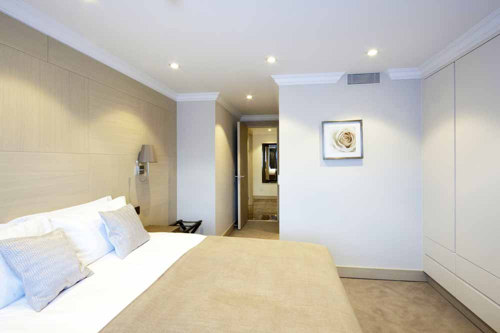 Executive Two Bedroom Apartment - Bedroom