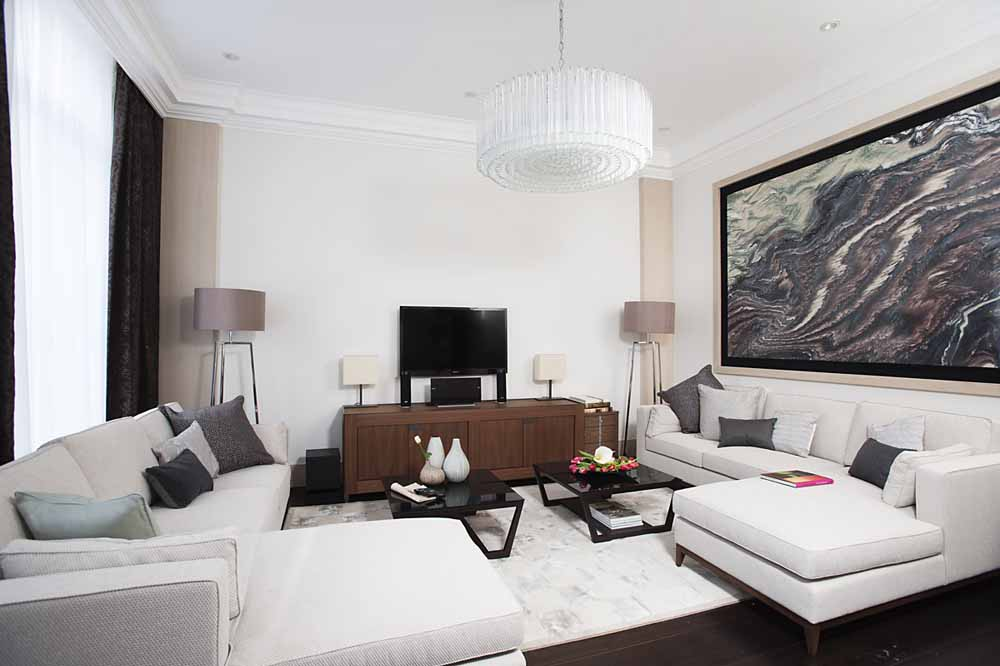 Three Bedroom Knightsbridge Penthouse Suite - Living Area