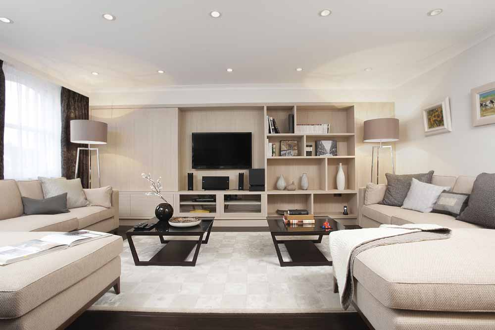 Three Bedroom Beaufort Penthouse Suite - Living Area