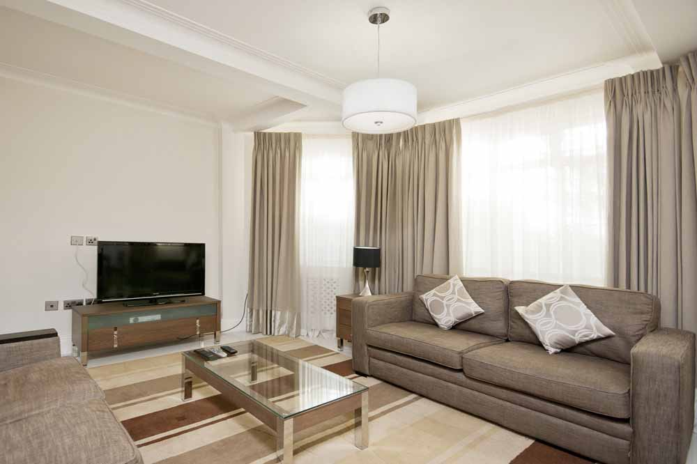 Superior Two Bedroom Apartment - Living Area