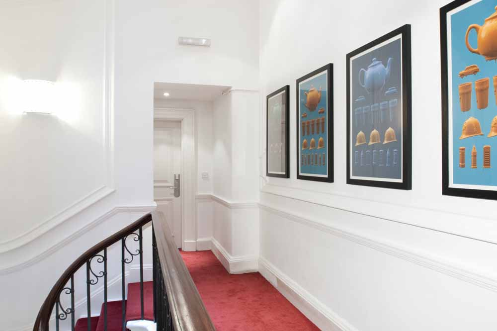 20 Hertford Street Apartments - Staircase Area