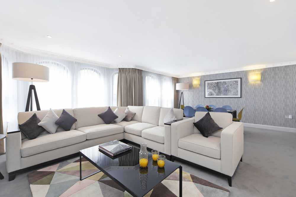 Three Bedroom Mayfair Suite - Living Area