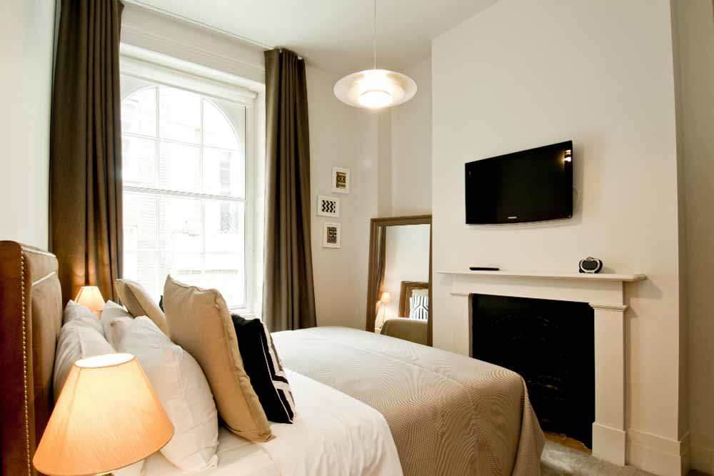 Classic Two Bedroom Apartment - Bedroom