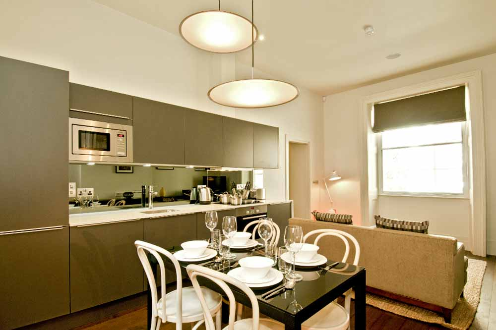 Classic Two Bedroom Apartment - Kitchen and Dining Area