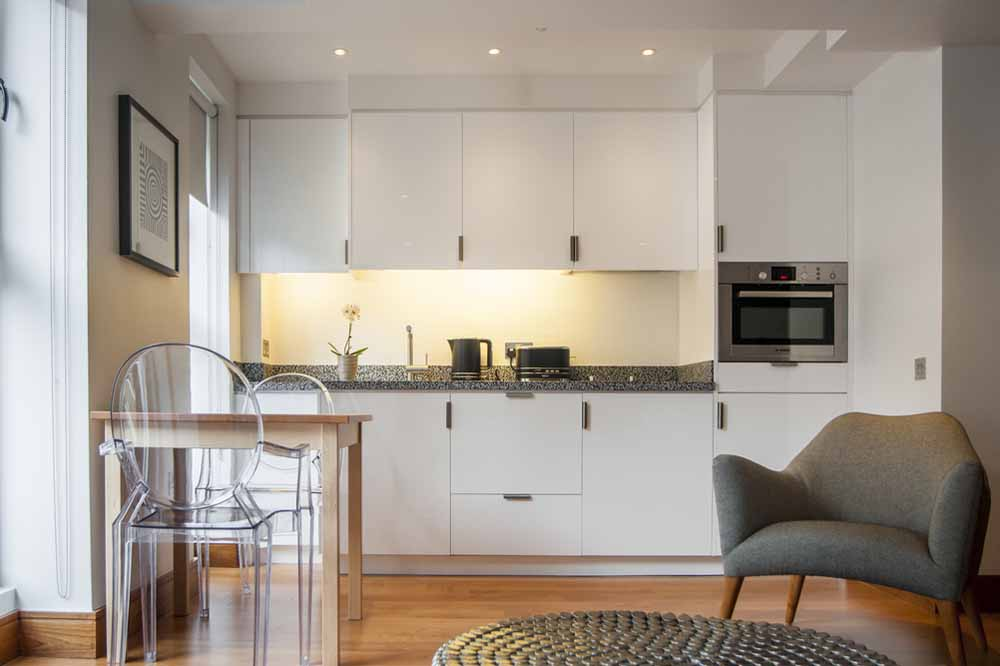 Premium Studio Apartment - Kitchen