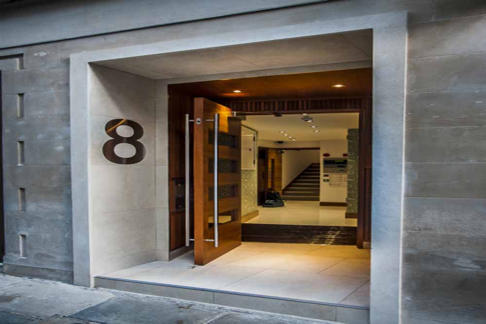 India Street Apartments - Building Entrance