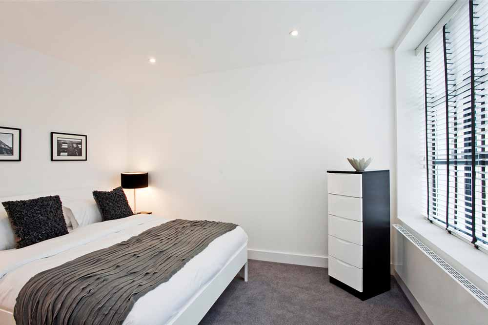 Premium One Bedroom Apartment - Bedroom