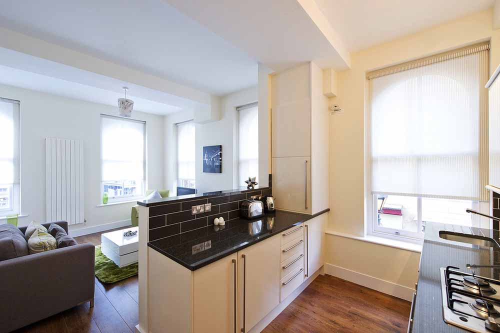 Classic One Bedroom Apartment (Puma Court) - Kitchen