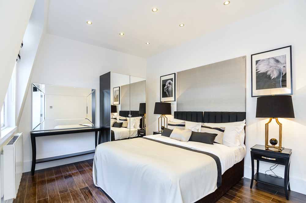 Two Bedroom Penthouse Apartment - Bedroom