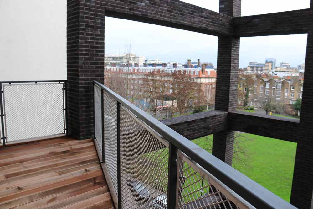 Executive Two Bedroom Apartment - Balcony
