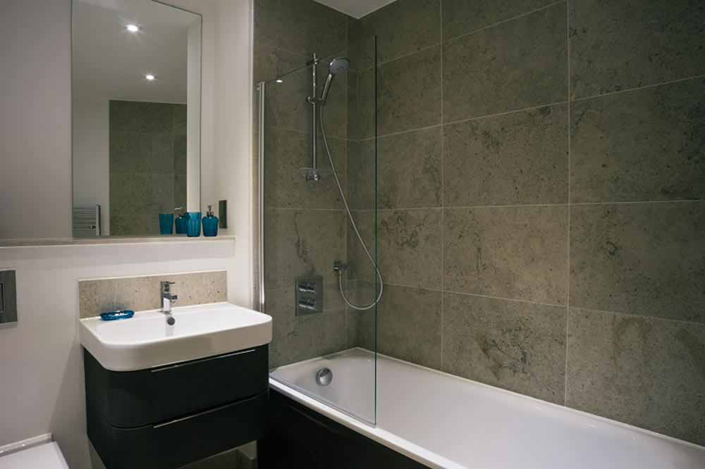 Executive Two Bedroom ApartmentBathroom
