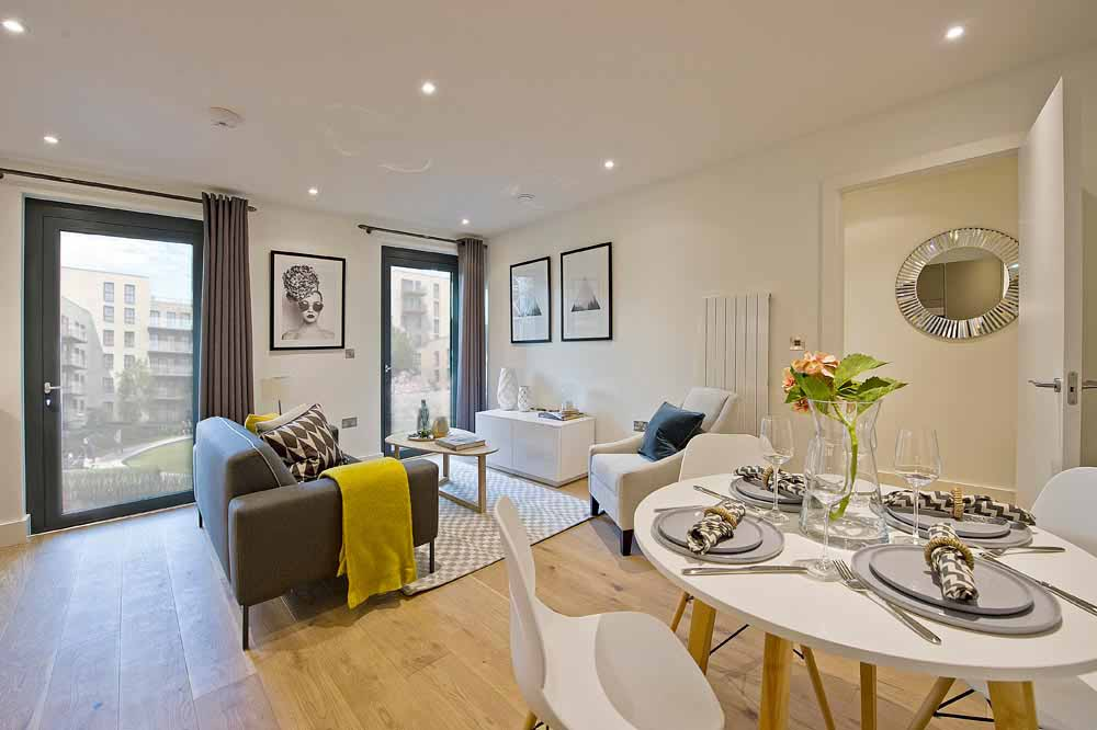 Exhibition Way Apartments - Dining Area
