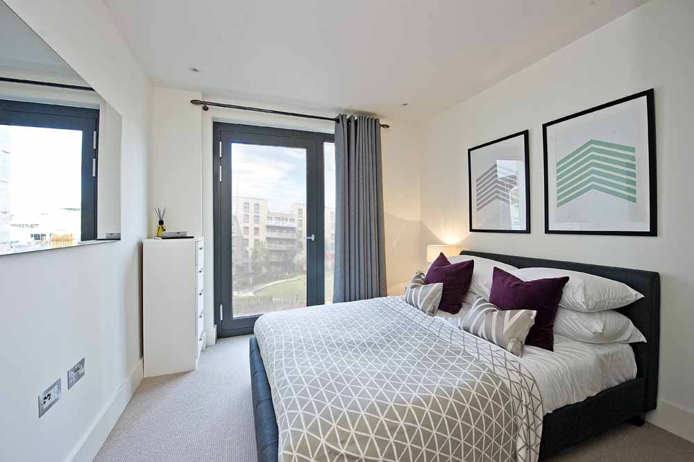 Exhibition Way Apartments - Bedroom