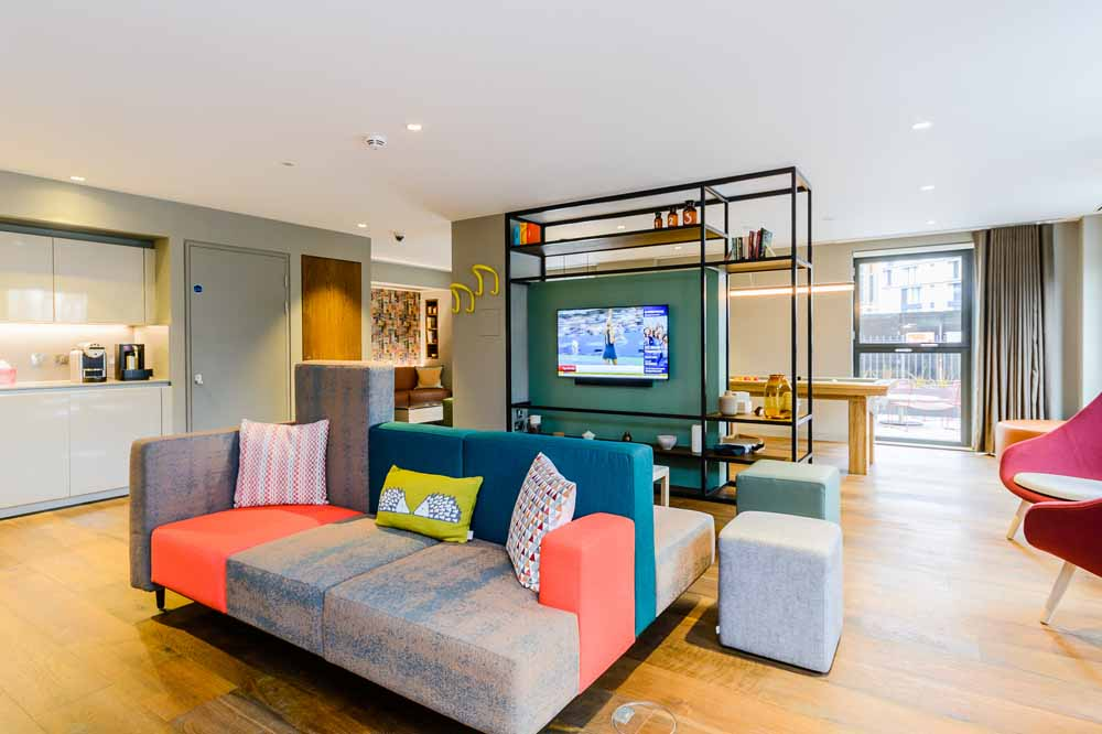 Exhibition Way Apartments - Living Area