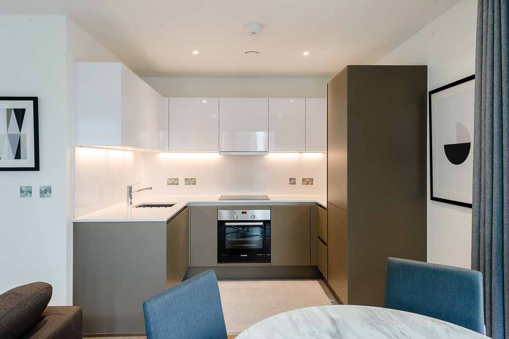 Exhibition Way Apartments - Kitchen