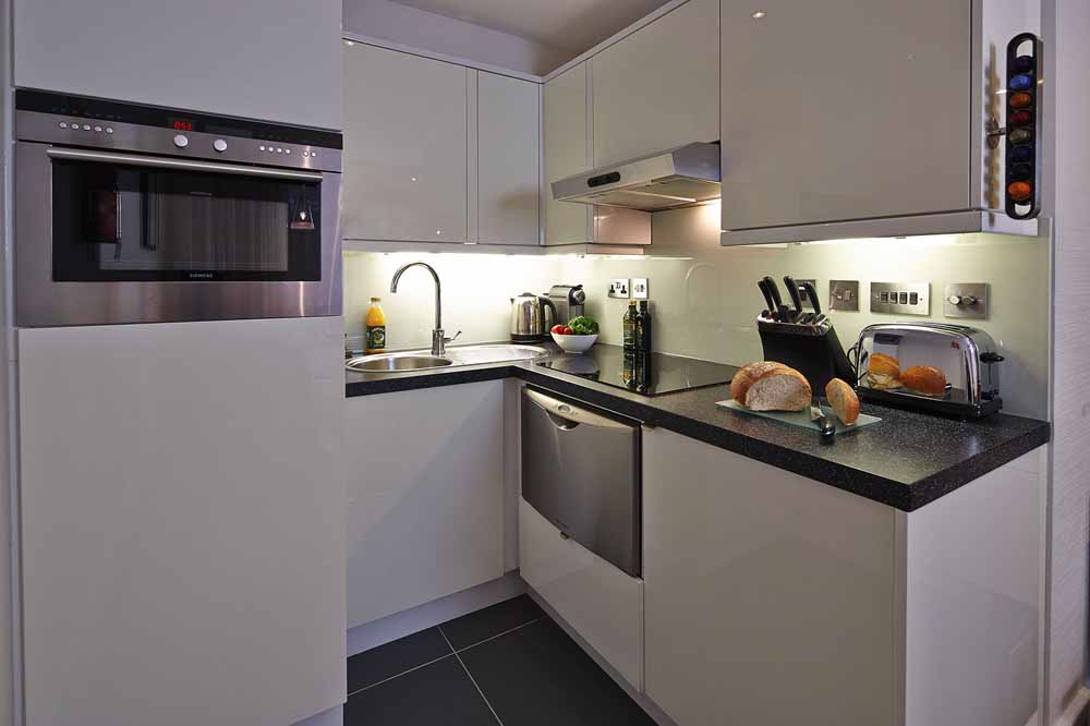 One Bedroom Apartment - Kitchenette
