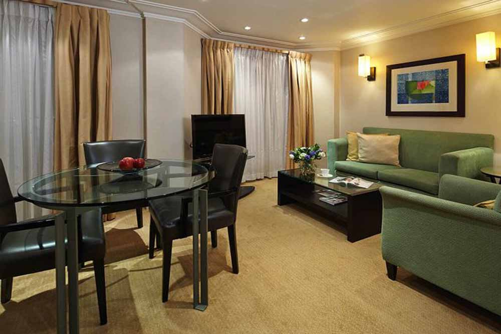 Luxury Two Bedroom Apartment - Living and Dining Room