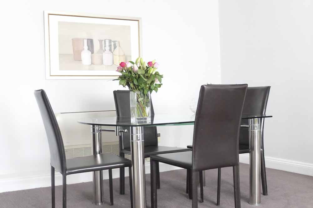One Bedroom Apartment - Dining Area