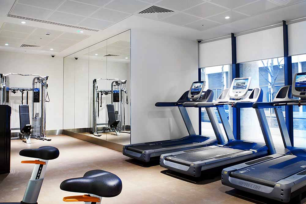 Cheval Three Quays Apartments - Gymnasium