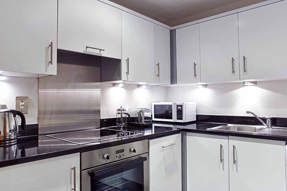 Three Bedroom Apartment -Kitchen