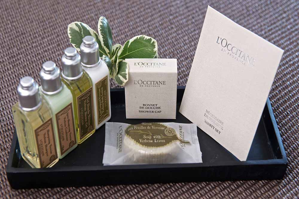 Fraser Place Canary Wharf - L'Occitane Toiletries