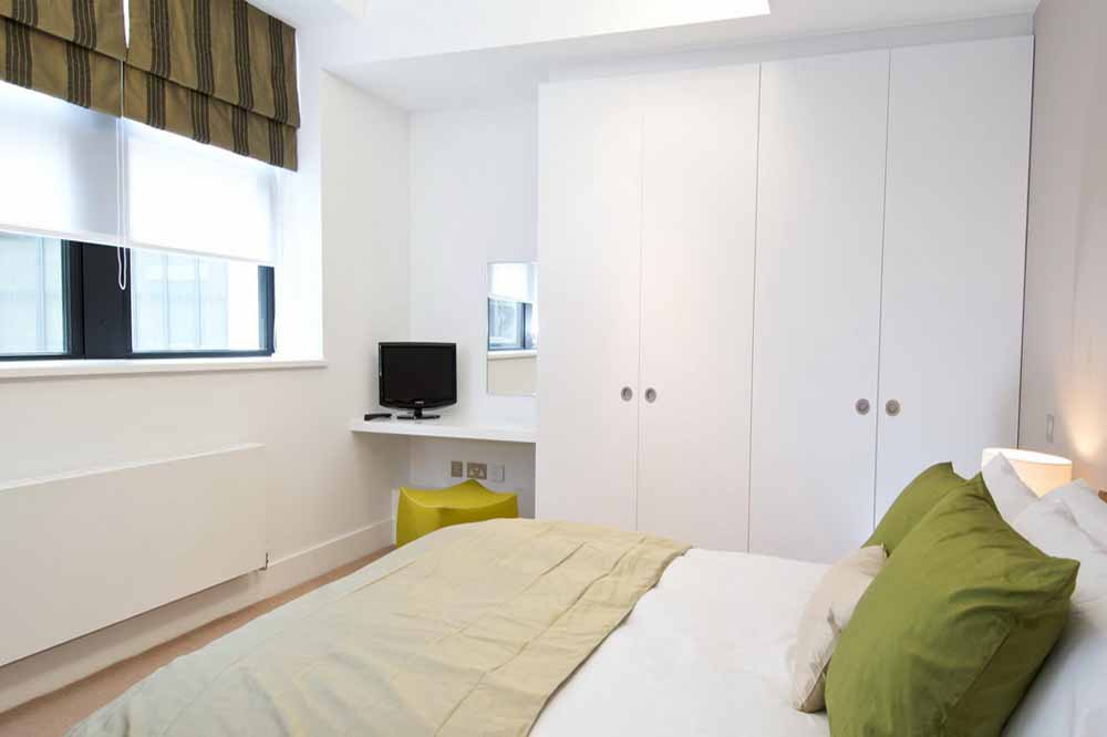 One Bedroom Apartment - Bedroom
