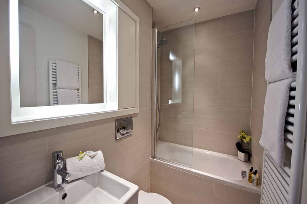 Deluxe One Bedroom Apartment - Bathroom