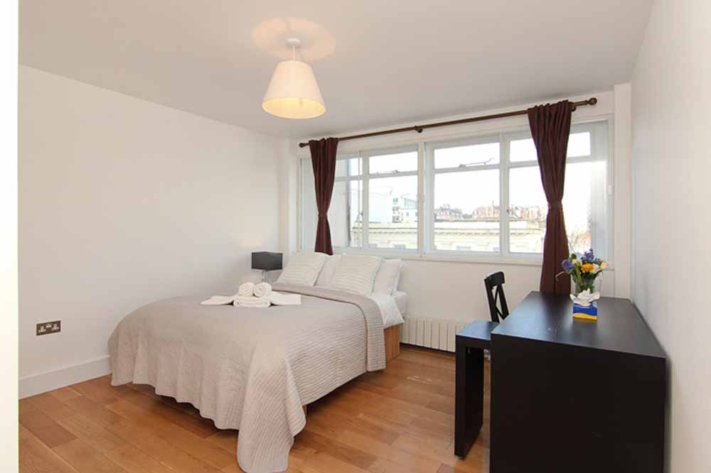 Three Bedroom Apartment - Bedroom