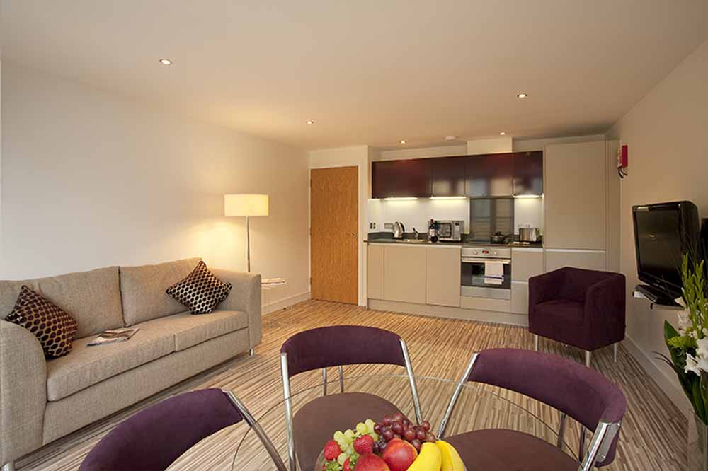 King George House Apartments - Living Area