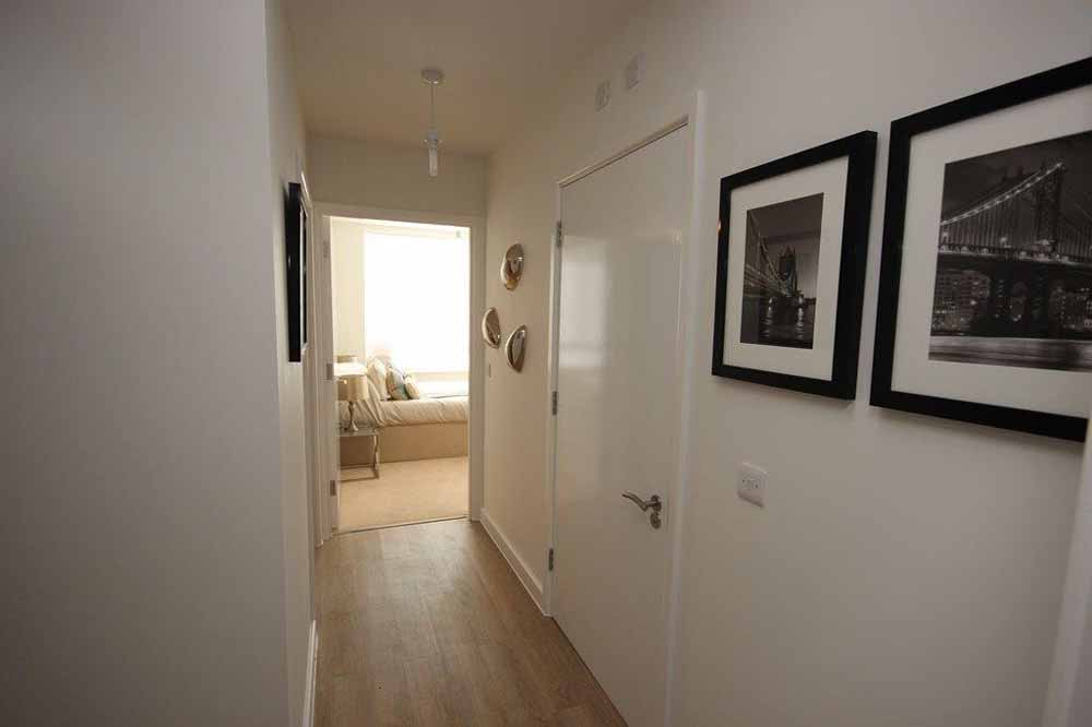 Two Bedroom Apartment - Hallway