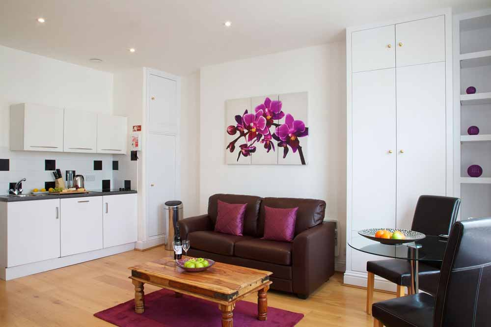 Longridge Road Apartments - Living Area