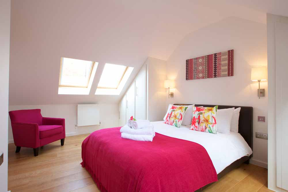 Marylebone Townhouses - Bedroom