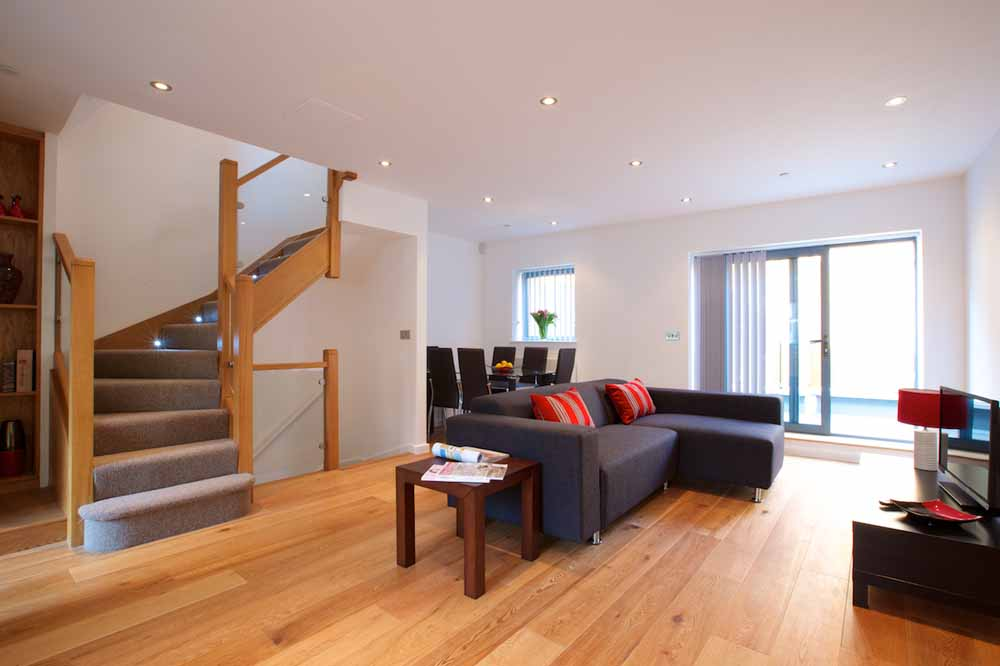 Marylebone Townhouses - Living Area