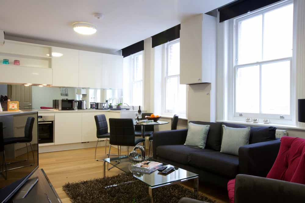 Fitzrovia Apartments - Living Area