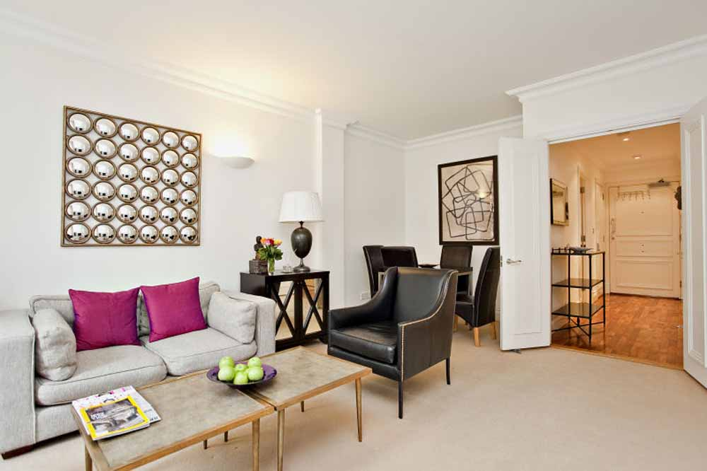 Marsham Street Apartments - Living Area