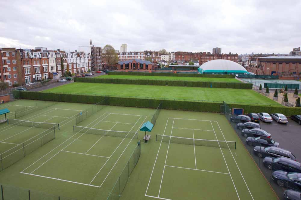 West Kensington Apartments - Tennis Court Queen's Club View