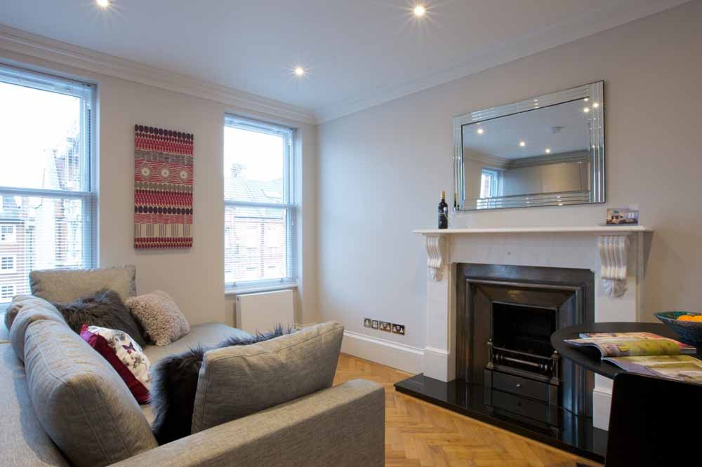 West Brompton Apartments - Living Area