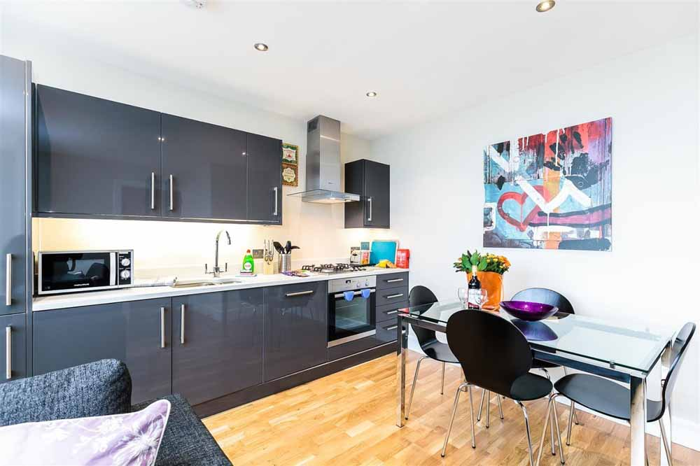 Gayton Road Apartments - Kitchen and Dining Area