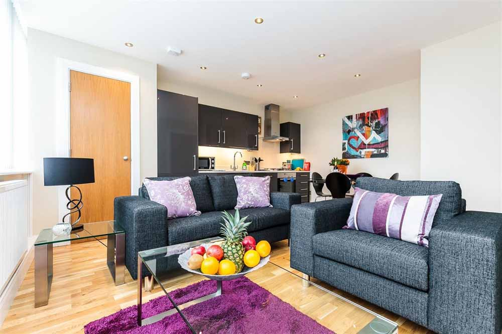 Gayton Road Apartments - Living Area