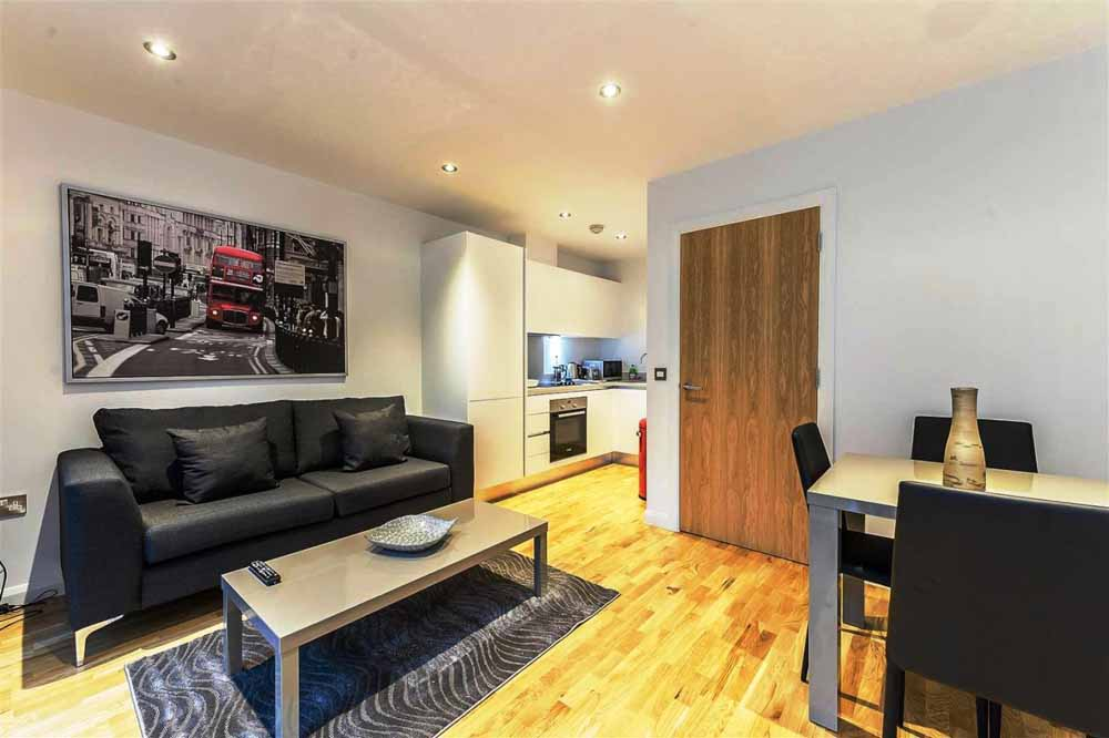 Tooley Street Apartments - Living Area