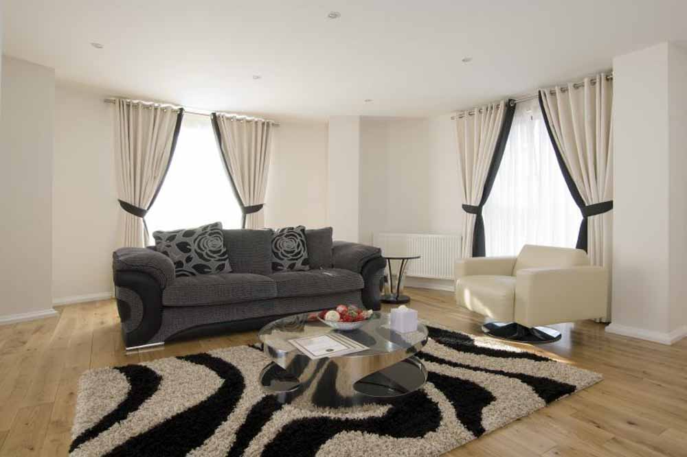 Executive Two Bedroom Apartment - Living Area