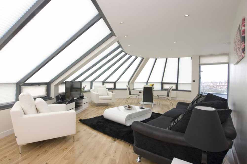 Two Bedroom Penthouse Apartment - Living Area