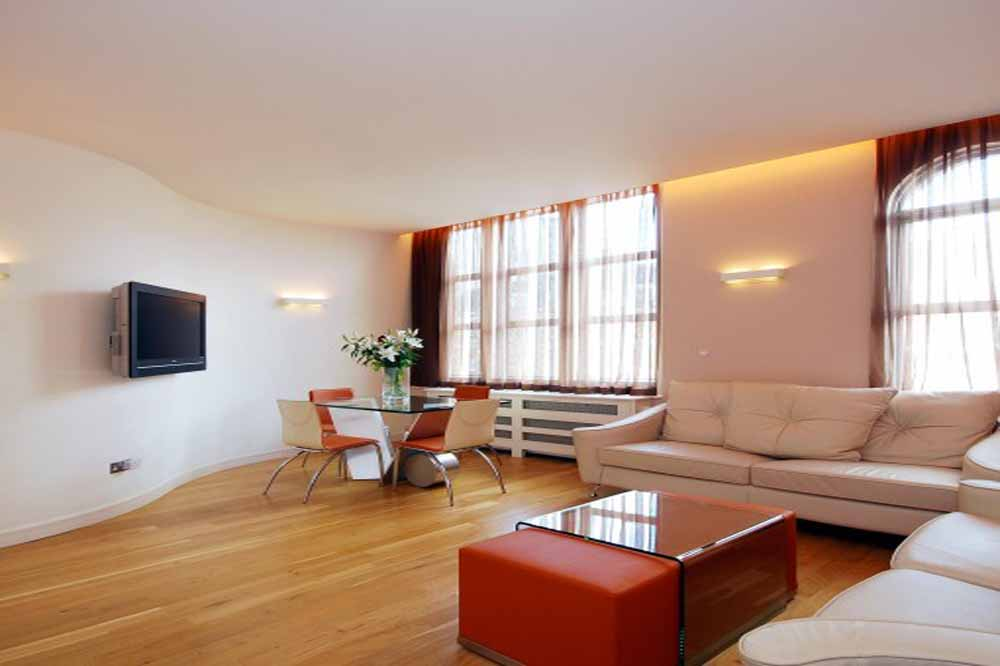 Large One Bedroom Apartment - Living Area