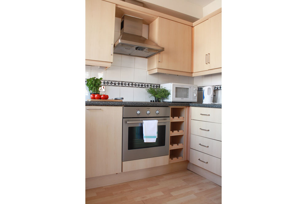 One Bedroom Apartment -Kitchen
