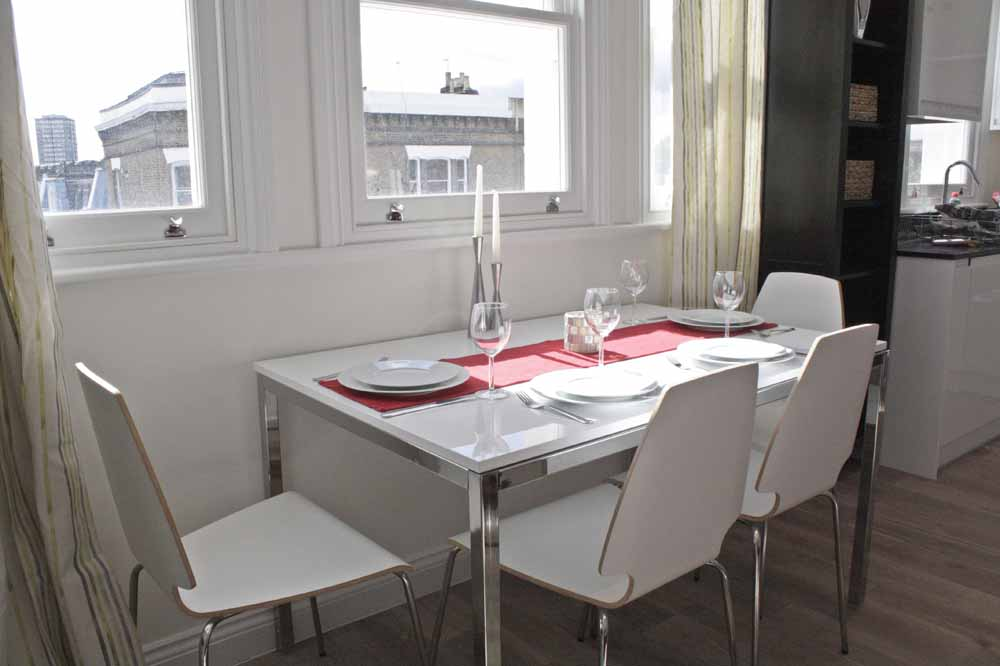 Two Bedroom Penthouse Apartment - Dining Area